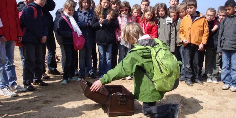 Chasse au trésor scolaire à Saint-Malo